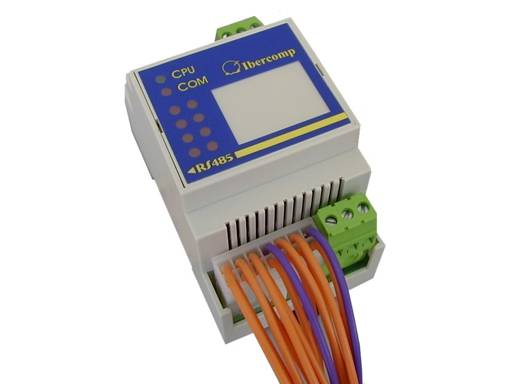 Modbus Module of voltage-free outputs