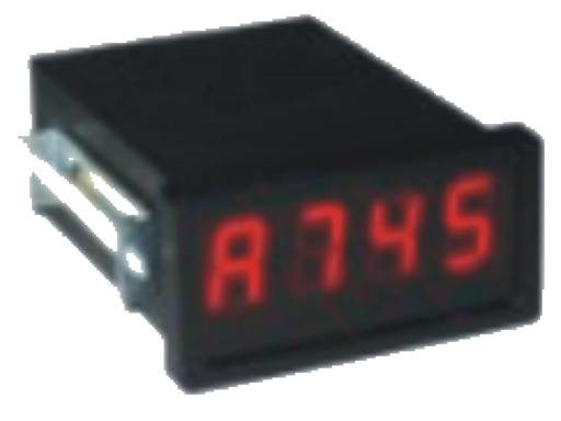 4-character display RS485